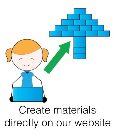 create materials