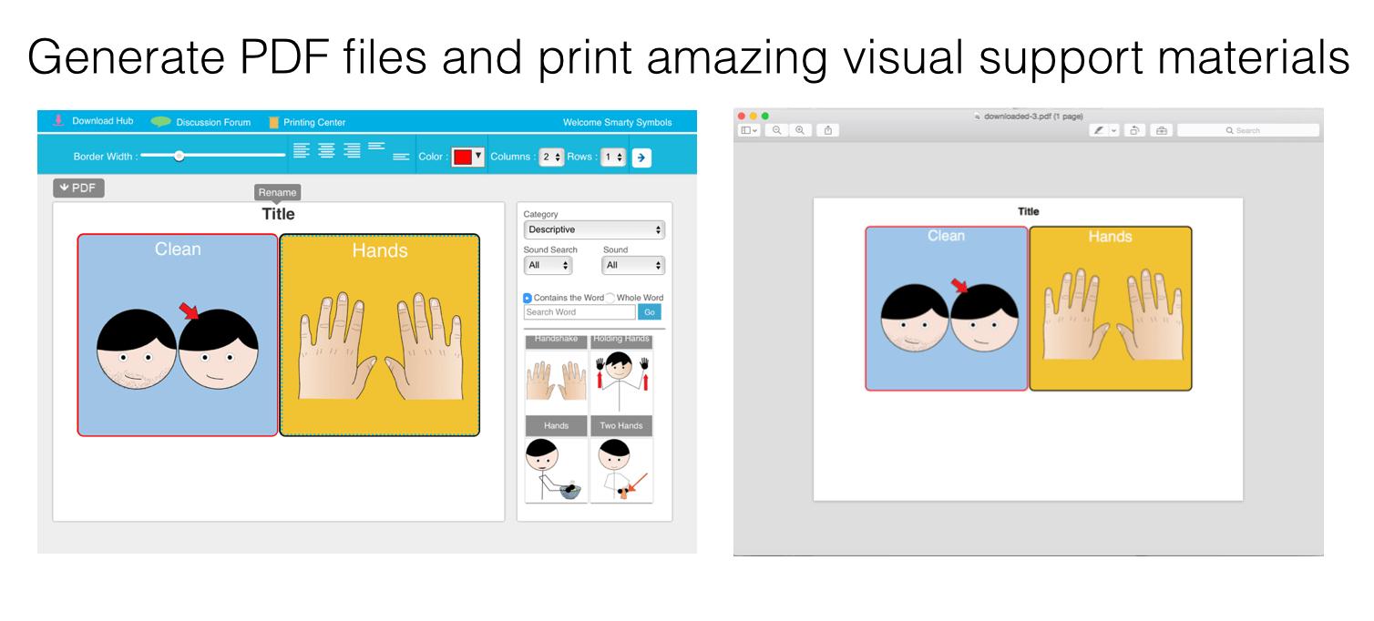 generate and print