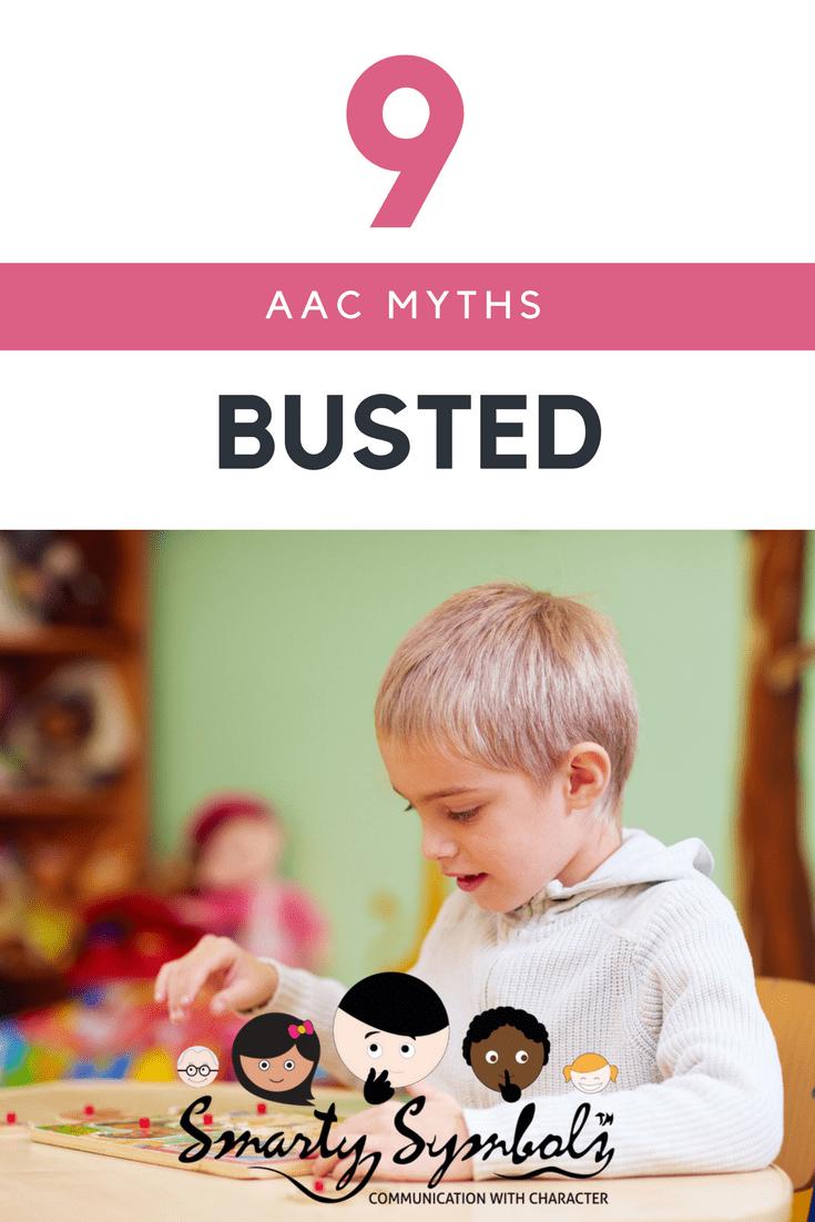 Nine AAC Myths busted