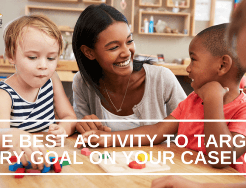 The Best Activity to Target Every Goal on Your Caseload