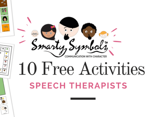 Ten free downloadable activities for speech therapy