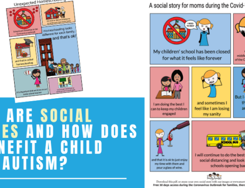 What are Social Stories and How does it Benefit a Child with Autism?
